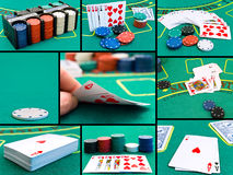 Casino set Royalty Free Stock Photo