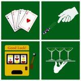 Casino set Stock Image