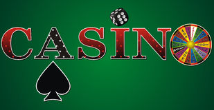 Casino sign Royalty Free Stock Photos