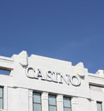 Casino Sign Stock Images