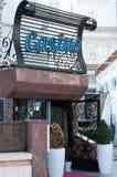 Casino sign entrance Royalty Free Stock Photo