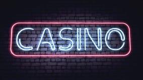 Casino sign Stock Image