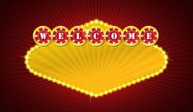 Casino signage Royalty Free Stock Photo