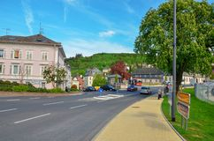 Casino Slechte Schwalbach, Duitsland stock foto