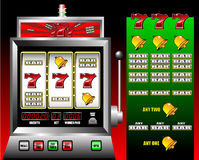 Casino slot machine royalty free illustration