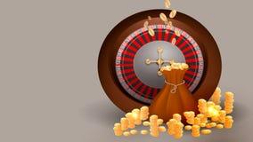 Casino slot machine stock illustration