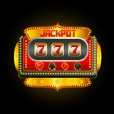 Casino Slot Machine royalty free illustration