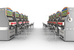 Casino slot machines Royalty Free Stock Image