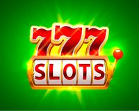 Casino slots jackpot 777 signboard. Vector illustration Stock Photography