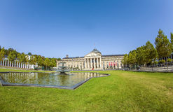Casino Spielbank of Wiesbaden Stock Image