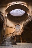 Casino stairs. Stairs in the Lviv ancient casino Royalty Free Stock Image