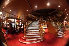 Casino stairway Stock Images