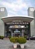 Casino suizo, plaza de Seedamm del hotel Imágenes de archivo libres de regalías
