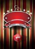 Casino symbol design Royalty Free Stock Image