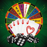 Casino symbols Stock Photos