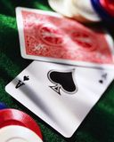 Casino table Stock Photo
