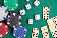 Casino table Stock Photography