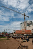 Casino in Thai-Cambodia Border Royalty Free Stock Images