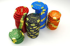 Casino Token Royalty Free Stock Image