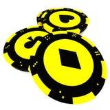 Casino tokens Stock Photos