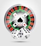 Casino - tout le gagnant de jeux de casino Photos libres de droits