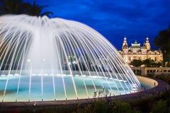 Casino van Monte Carlo. Stock Afbeeldingen