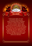 Casino Vector Background stock illustration