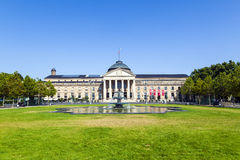 Casino in Wiesbaden/Duitsland royalty-vrije stock afbeelding