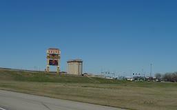 Casino y centro turístico magníficos, Shawnee, AUTORIZACIÓN imágenes de archivo libres de regalías