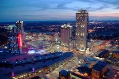 Casino y centros turísticos de Niagara Falls foto de archivo