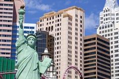 Casino y hotel de Nueva York en Las Vegas, Nevada Imágenes de archivo libres de regalías