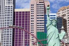 Casino y hotel de Nueva York en Las Vegas, Nevada Imagen de archivo
