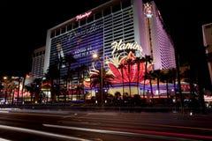 Casino y hotel del flamenco en Las Vegas, Nevada Imagen de archivo libre de regalías
