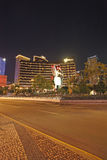 Casino y hotel por noche, Macao de Wynn Foto de archivo libre de regalías