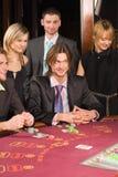 Casino y juventud imagen de archivo