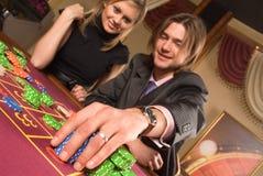 Casino y juventud imagen de archivo libre de regalías