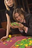 Casino y juventud foto de archivo libre de regalías