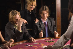 Casino and youth Stock Image