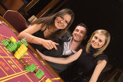 Casino and youth Royalty Free Stock Photos