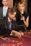 Casino and youth Royalty Free Stock Photo