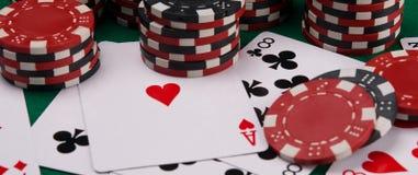 Casinoachtergrond, willekeurig verspreide punten voor het gokken van pook royalty-vrije stock foto's
