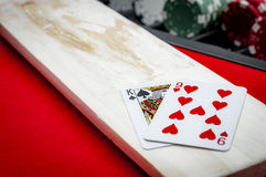 Casinobaccarat Banco Punto Stock Foto