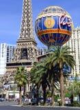Casinos along the strip in Las Vegas, Nevada Stock Photography