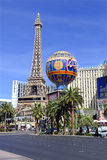 Casinos along the strip in Las Vegas, Nevada Stock Images