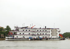 Casinos can be found in Goa on boats docked in Mandovi river Stock Images