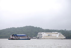 Casinos can be found in Goa on boats docked in Mandovi river Royalty Free Stock Photography