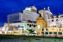 Casinos de Atlantic City foto de archivo