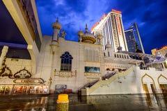 Casinos de Atlantic City fotografía de archivo libre de regalías