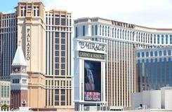 Casinos de Las Vegas Images stock