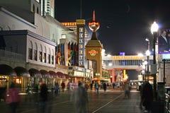 Casinos en Atlantic City Foto de archivo libre de regalías